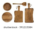 kitchen cooking utensils and... | Shutterstock . vector #591215384