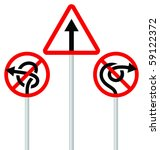 road signs  arrows  | Shutterstock .eps vector #59122372