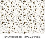 Crumb Vector Pattern Background