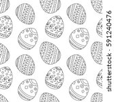 simple seamless pattern with... | Shutterstock .eps vector #591240476
