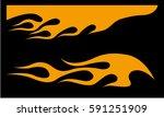 flames | Shutterstock .eps vector #591251909