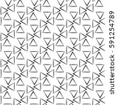 vector modern seamless geometry ... | Shutterstock .eps vector #591254789