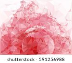 abstract multicolor mosaic... | Shutterstock .eps vector #591256988