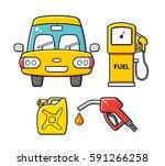 car front view  fuel pump...