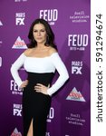 """Small photo of LOS ANGELES - MAR 1: Catherine Zeta-Jones at the """"Feud: Bette And Joan"""" Premiere Screening at the TCL Chinese Theater IMAX on March 1, 2017 in Los Angeles, CA"""