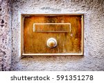 Old Bell Button   Closeup  ...