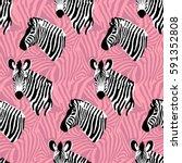 vector seamless pattern texture ... | Shutterstock .eps vector #591352808