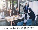 business teamwork idas concept... | Shutterstock . vector #591379328