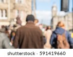 blurred image of people walking ... | Shutterstock . vector #591419660