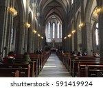 seoul  south korea   february... | Shutterstock . vector #591419924