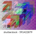 navigation texture art | Shutterstock .eps vector #591422879