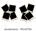 photo frames isolated on white | Shutterstock . vector #59142706
