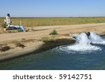 Water Is Pumped Into Californi...