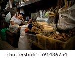 yogyakarta  indonesia   oct 10  ... | Shutterstock . vector #591436754