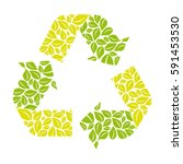 symbol reuse  reduce and...   Shutterstock .eps vector #591453530