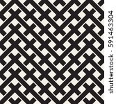 weave seamless pattern. stylish ... | Shutterstock .eps vector #591463304