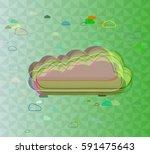 smoke art pattern   Shutterstock .eps vector #591475643