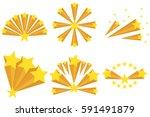 fireworks of the stars  star... | Shutterstock .eps vector #591491879