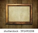 old wood boards empty | Shutterstock . vector #591493208