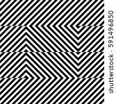 vector seamless pattern.... | Shutterstock .eps vector #591496850