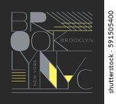 Brooklyn New York Typography ...