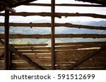 Photo Of A Wooden Wall From An...