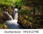 pecca falls   one of the...   Shutterstock . vector #591512798