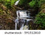 pecca falls   one of the...   Shutterstock . vector #591512810