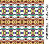seamless colorful pattern for... | Shutterstock . vector #591524930