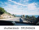 cap d ail  france   november 19 ... | Shutterstock . vector #591543626