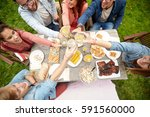 leisure  holidays  eating ... | Shutterstock . vector #591560000