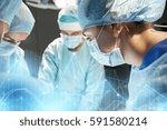 surgery  healthcare  medicine... | Shutterstock . vector #591580214