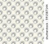 abstract irregular halftone... | Shutterstock .eps vector #591587144