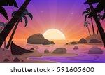 cartoon illustration of the...   Shutterstock .eps vector #591605600