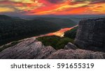 Scenic sunset, Big South Fork, Kentucky