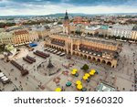 top view of the main square of... | Shutterstock . vector #591660320