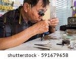 bangkok  thailand   fedruary 24 ... | Shutterstock . vector #591679658