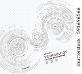 technology composition...   Shutterstock .eps vector #591696566