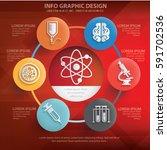 health care info graphics... | Shutterstock .eps vector #591702536
