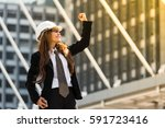 happy in work can win a game... | Shutterstock . vector #591723416