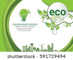 ecology connection  concept... | Shutterstock .eps vector #591729494