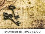 vintage key | Shutterstock . vector #591741770