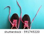 fashion sport shoes   Shutterstock . vector #591745220
