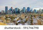 calgary downtown skylines in...   Shutterstock . vector #591746798