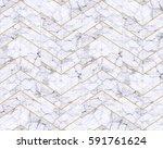 chevron zigzag marble  white... | Shutterstock . vector #591761624