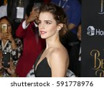 emma watson at the los angeles... | Shutterstock . vector #591778976