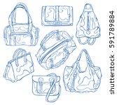 women's handbags  handbag ... | Shutterstock .eps vector #591789884