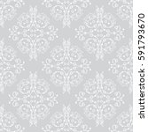 vector seamless endless pattern.... | Shutterstock .eps vector #591793670