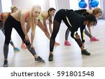 ready for a full body workout   | Shutterstock . vector #591801548