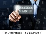 business man pointing his hand... | Shutterstock . vector #591824054